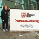 Walking Football Karen at St Georges Park