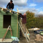 Mens Shed Construction 3