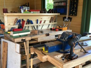 Mens Shed Inside