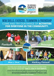 Horsham & Shipley Community Project Poster