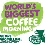 charity macmillan coffee-morning logo