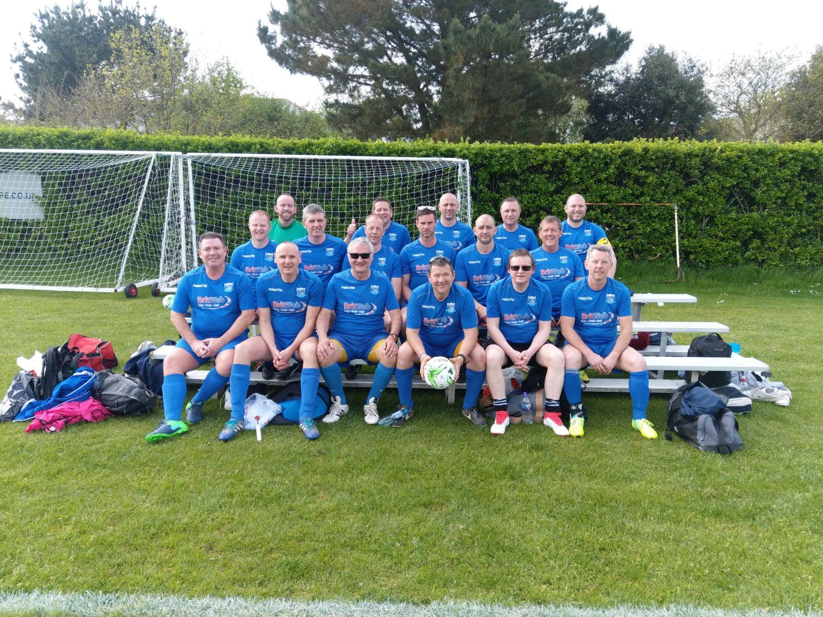 Vets Jersey Tour team 2