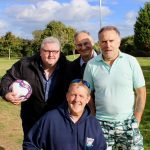 walking football footgolf